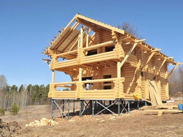 Фундамент на гвинтових палях-конструкція і монтаж своїми руками