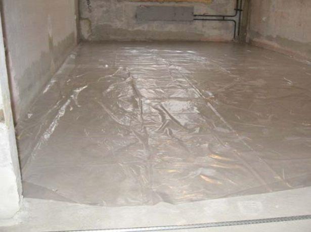 Робимо самостійно тепла підлога в лазні