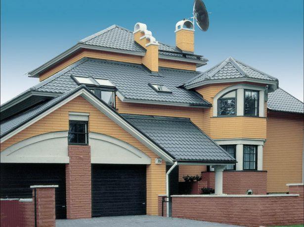 Вальмовие даху і варіанти їх облаштування