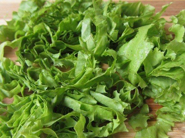 Салат латук – корисні властивості і шкода зелені