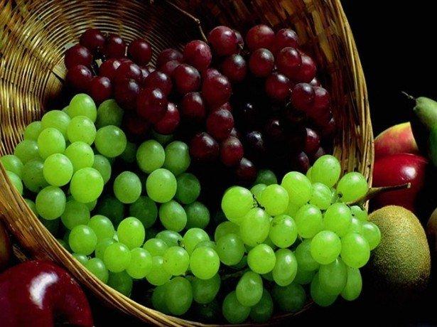 Виноград-корисні властивості плодів і соку для зміцнення здоровя